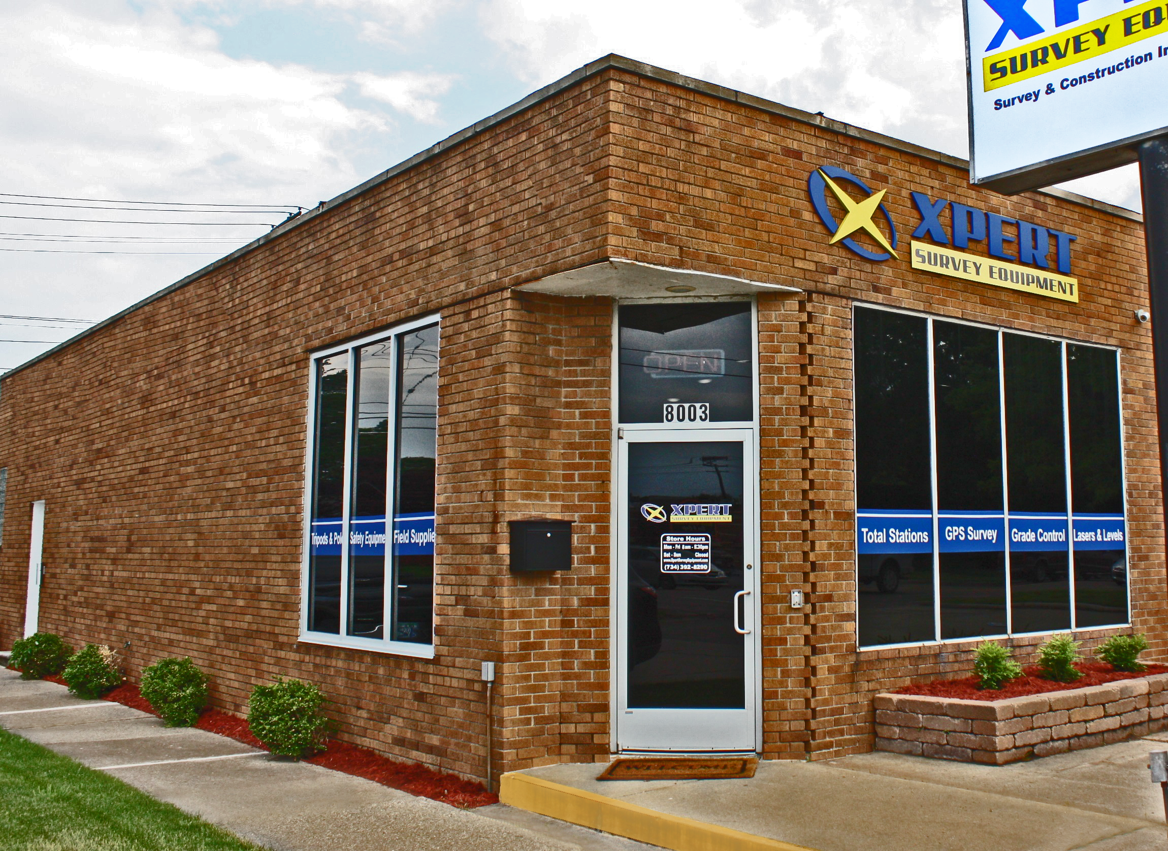 Xpert Survey Equipment Storefront
